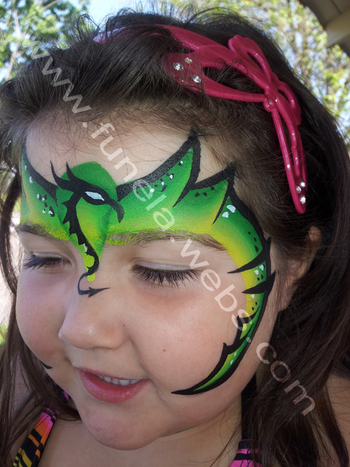 face_painting_green_dragon