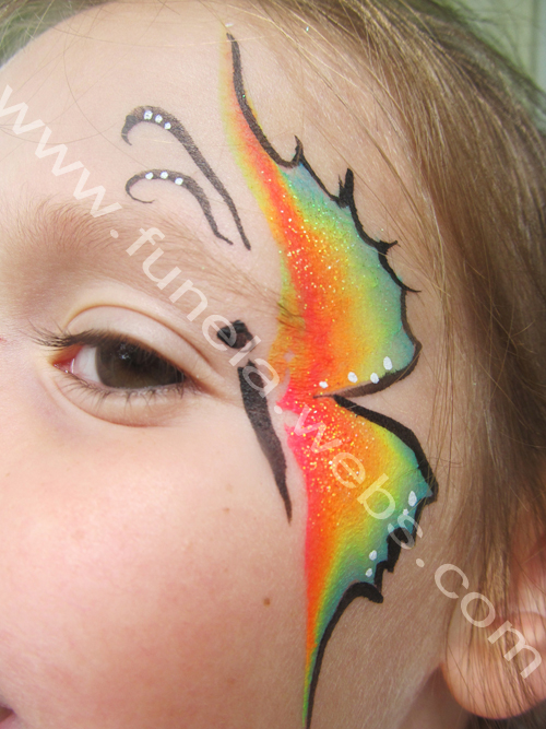 face_painting_small_rainbow_butterfly